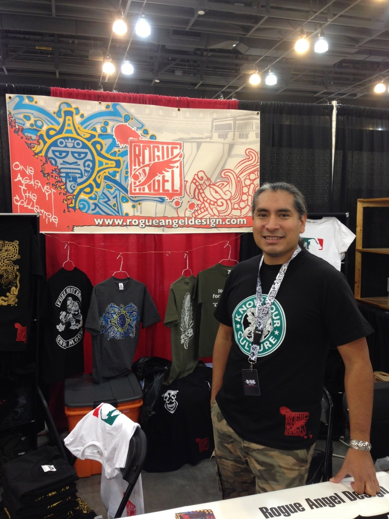 Angel Mendoza of Rogue Angel Design