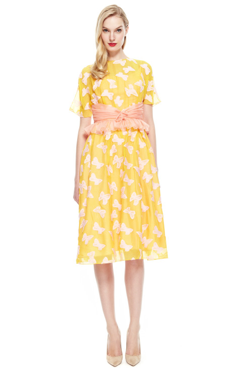 Vintage Vanguard Creatures of the Wind Butterfly Party Dress, Photo Credit Moda Operandi