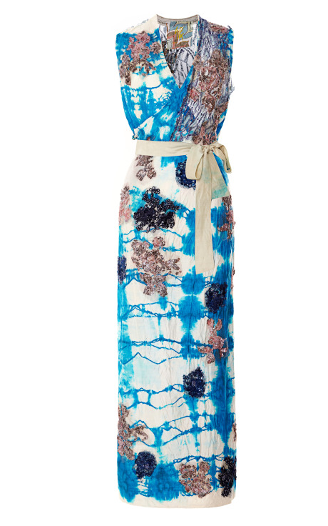 Vintage Vanguard Gregory Parkinson Tie Dye Dress.  Photo Credit: Moda Operandi