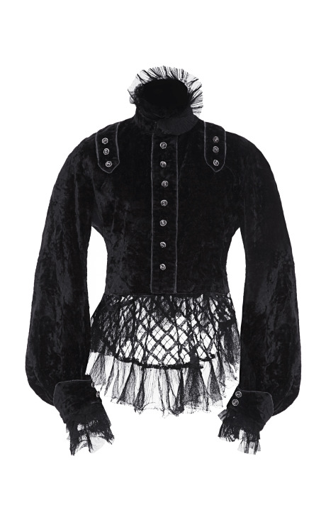 Vintage Vanguard Tabitha Simmons Victorian jacket. Photo Credit: Moda Operandi
