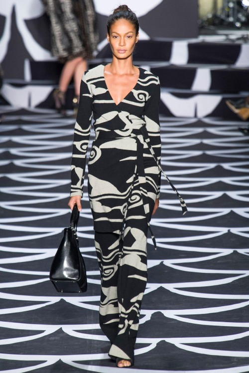 DVF Fall '14 TTW.  Photo Credit: The Cut