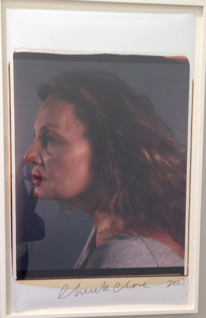 DVF Portrait by Chuck Close