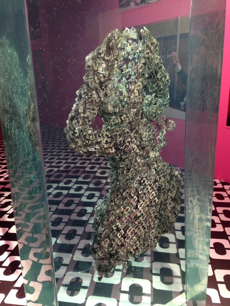 """A Ghost May Come"", Dustin Yellin"