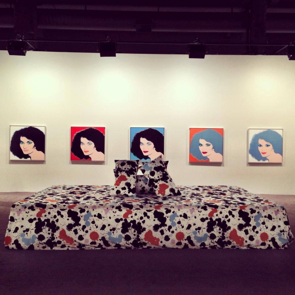 DVF Portrait by Andy Warhol