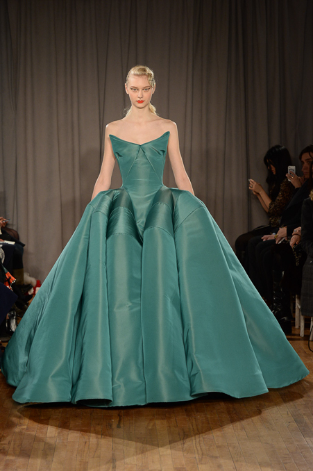 Zac Posen, Fall 2014. Photo Credit: Vogue