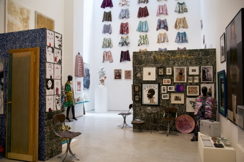 "Duro Olowo's ""More Material"" at Salon 94. Photo Credit: Vogue"
