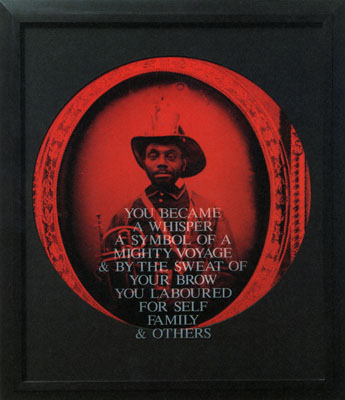 """""""From Here I saw What Happened and I Cried"""", Carrie Mae Weems.  Photo Credit: the artist"""