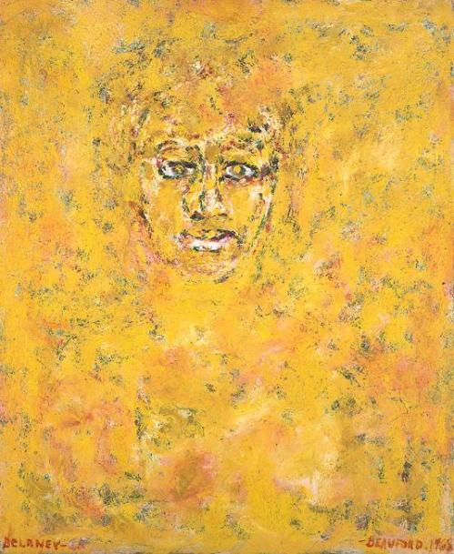 Portrait of Ella Fitzgerald, Beauford Delaney. Photo Credit, SCAD
