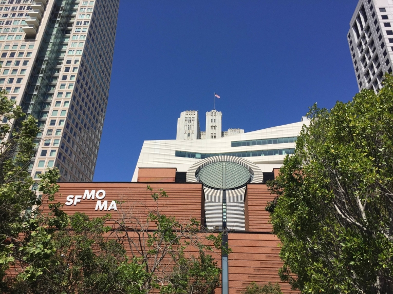 SF MOMA from Yerba Buena