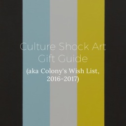 A Culture Shock Art Gift Guide