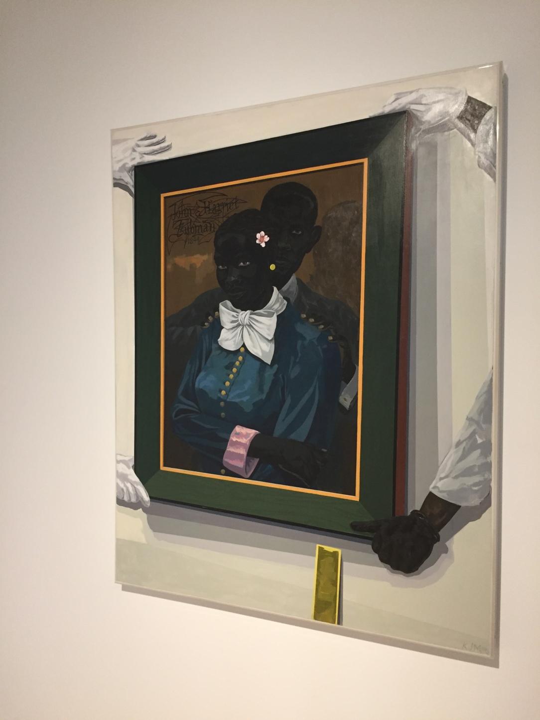 "Kerry James Marshall, ""Still Life with Wedding Portrait"", 2015"