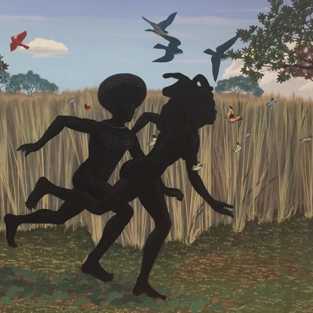 """Kerry James Marshall, """"Vignette"""", 2003"""