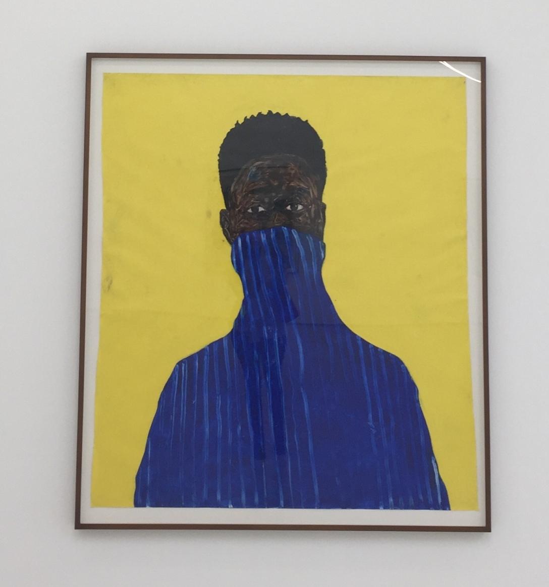 Amoako Boafo, Blue Pullover, 2018