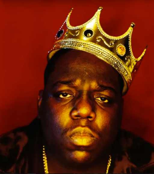 Christopher Wallace, aka Biggie Smalls, Photographed by Barron Clairborne