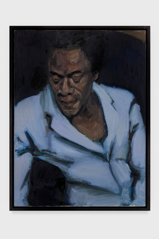 "Lynette Yiadom-Boakye. ""Carpal Tunneller"", 2013. © Lynette Yiadom-Boakye. The Eileen Harris Norton Collection. Photo: Charles White."