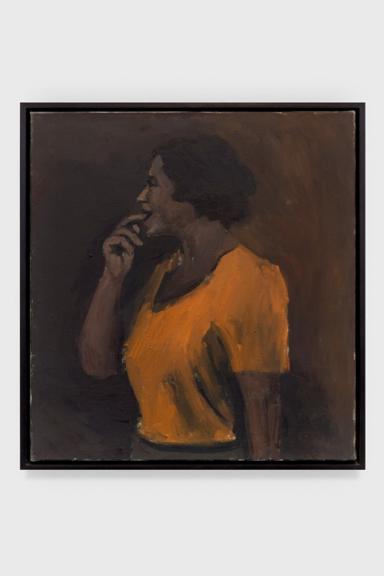 "Lynette Yiadom-Boakye. ""Every Choice Available"", 2012. © Lynette Yiadom-Boakye. The Eileen Harris Norton Collection. Photo: Charles White."